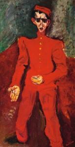 Chaïm Soutine, Le chasseur de chez Maxim's, ca. 1925