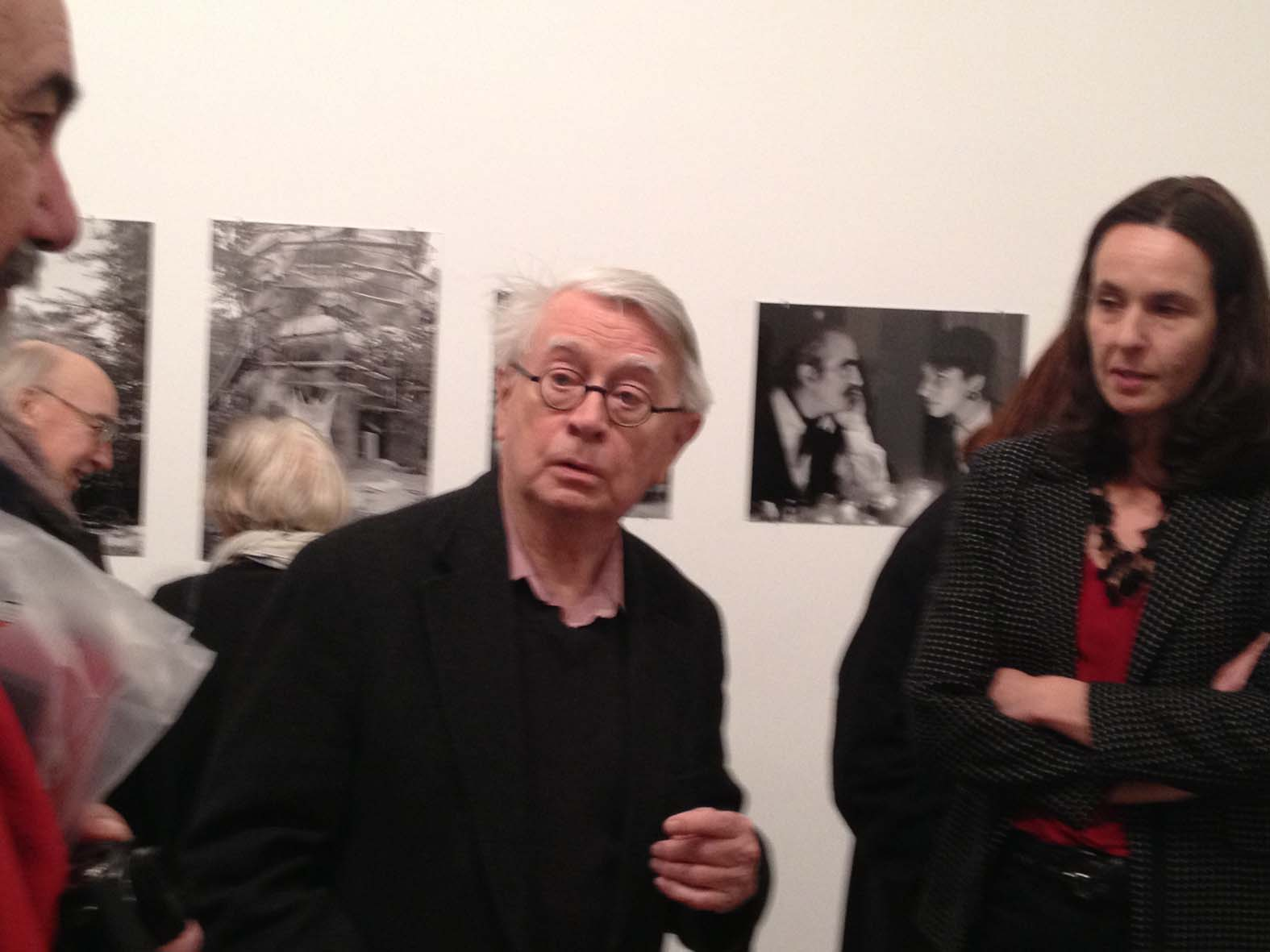 Der Künstler anlässlich der Medienkonferenz im Museum Tinguely