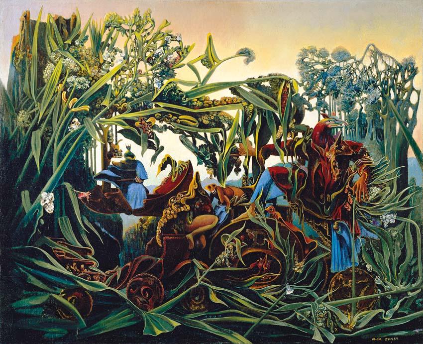 Max Ernst, La nature à l'aurore (Chant du soir), 1938