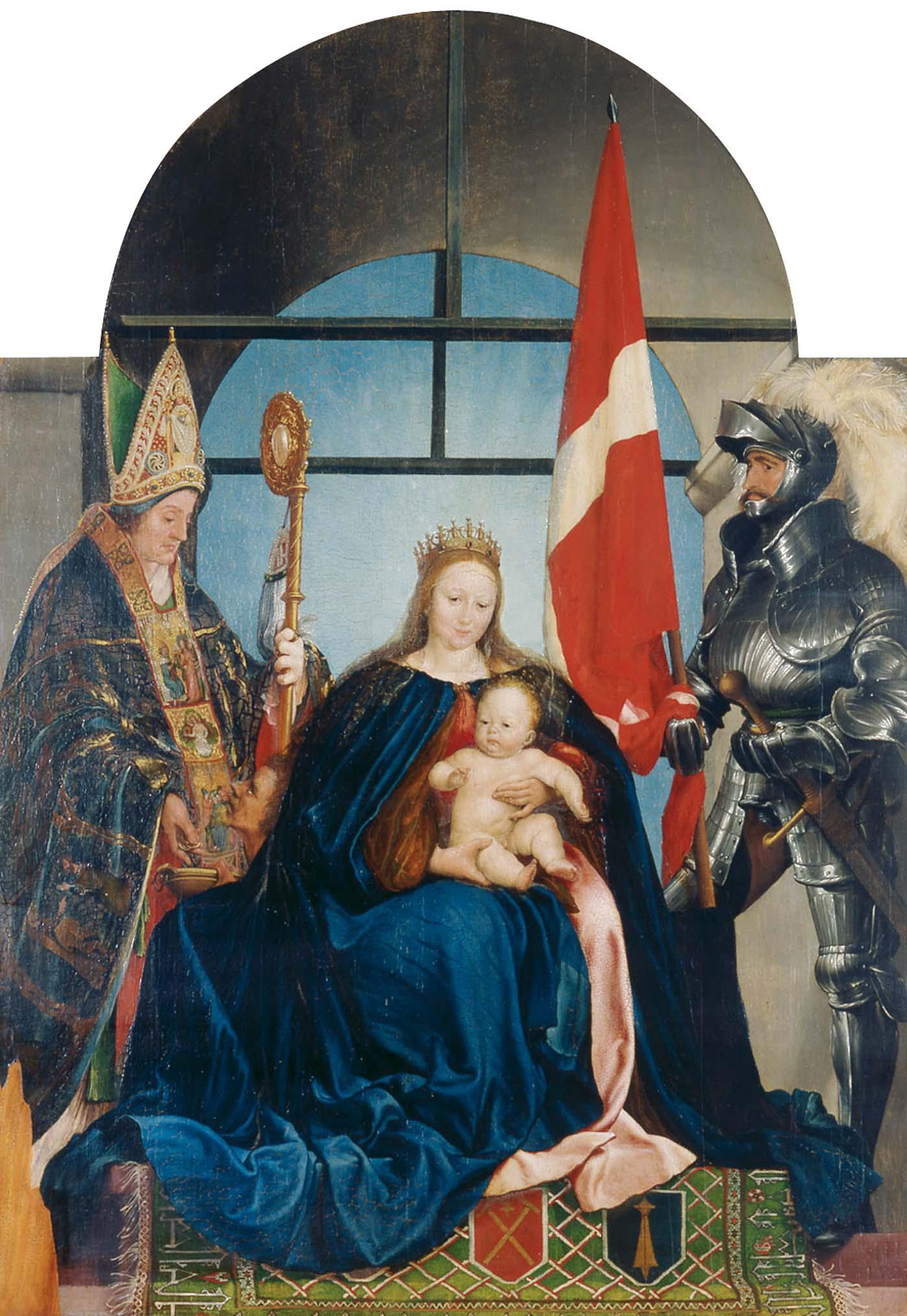 Hans Holbein d. J. Die Solothurner Madonna, 1522