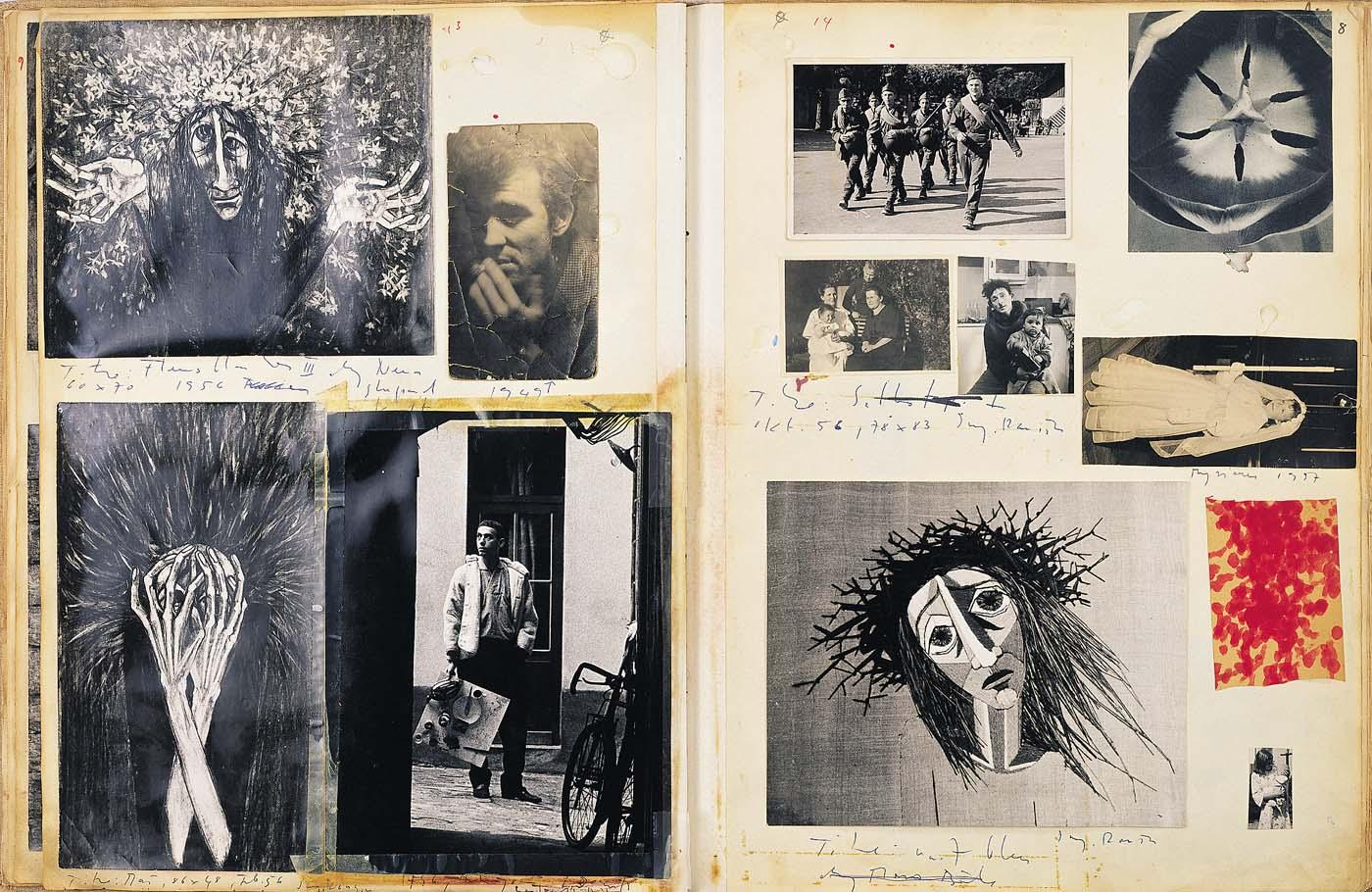 Eva Aeppli, Lebensbücher Band 1, 1954-1960