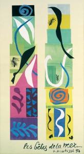 Henri Matisse, Les bêtes de la mer, 1950 © Pro Litteris