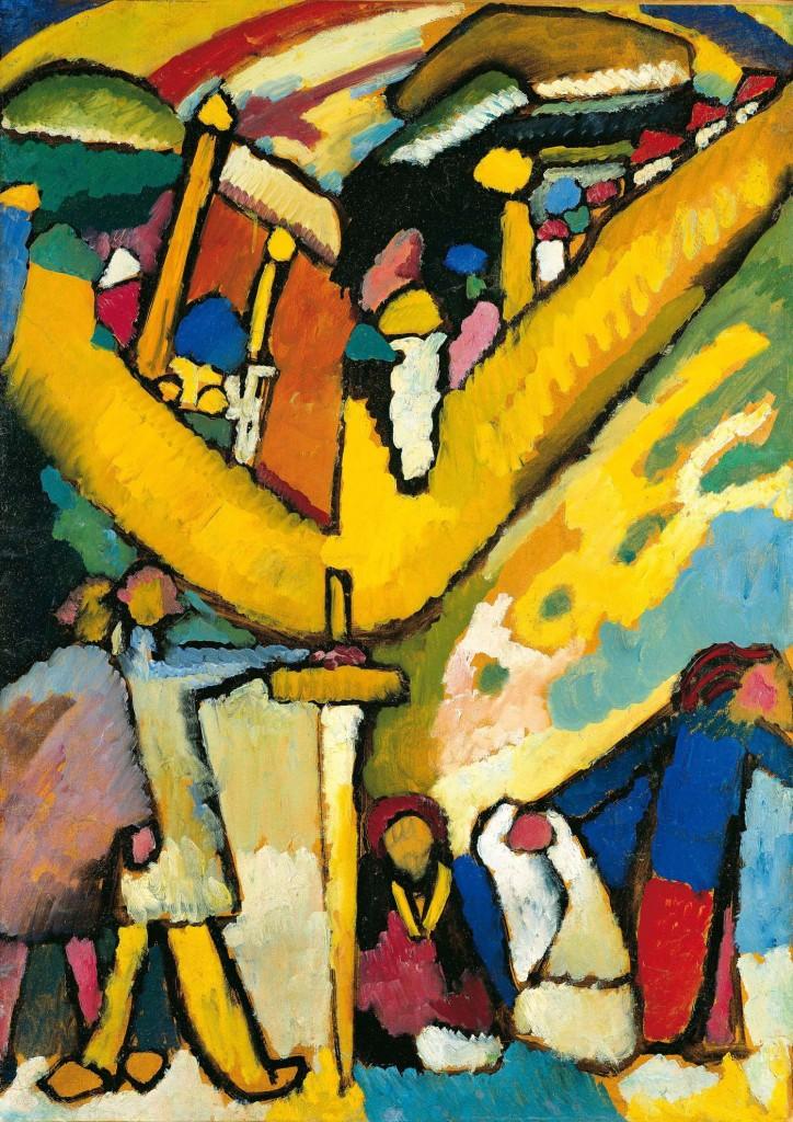 Wassily Kandinsky, Studie für Improvisation 8, 1909
