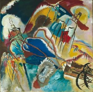 Wassiliy Kandinsky, Improvisation 30 (Kanonen), 1913