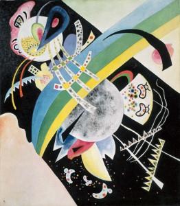 Wassily Kandinsky, Kreise auf Schwarz, 1921