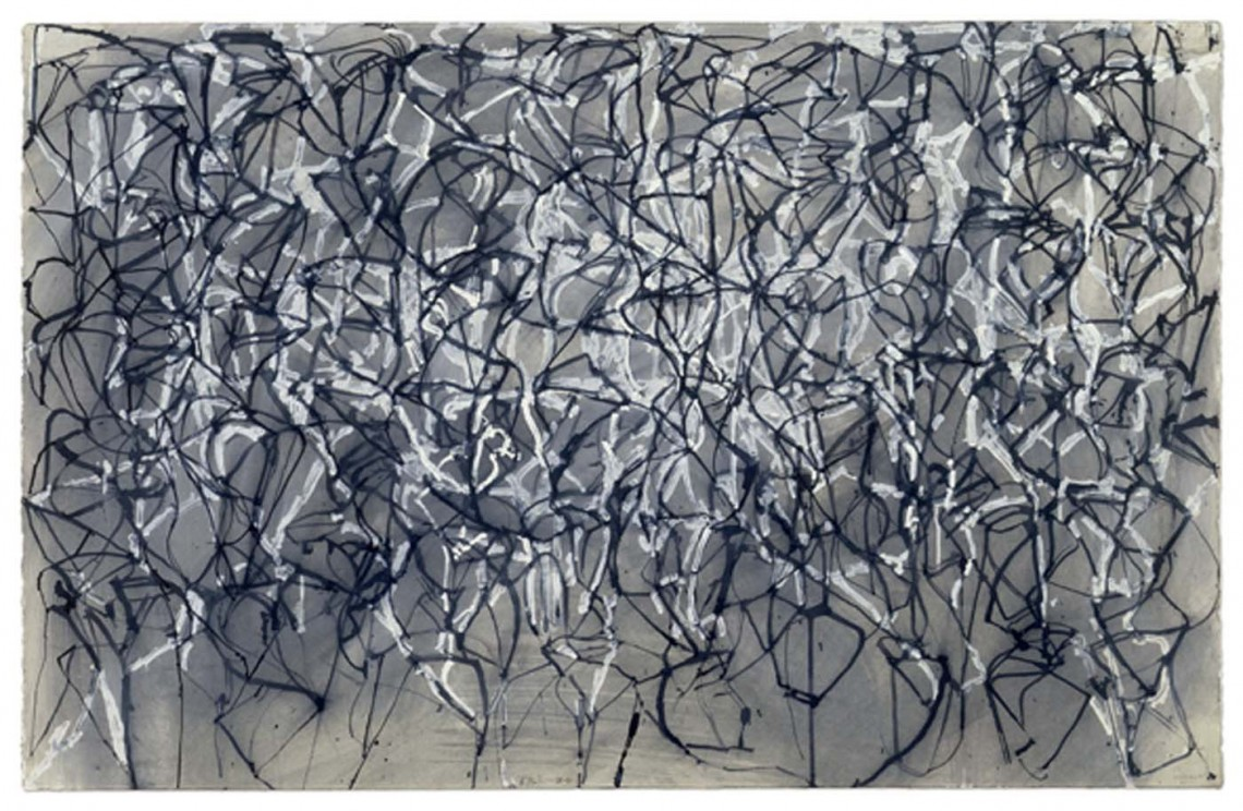 Brice Marden, Muses Drawing 2, 1989-91 © Pro Litteris