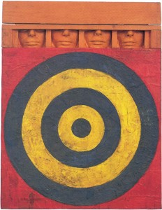 Jasper Johns, Target with Four Faces, 1955 © Pro Litteris