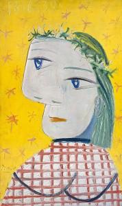 Pablo Picasso, Femme à la couronne de fleurs, 1939 © Pro Litteris