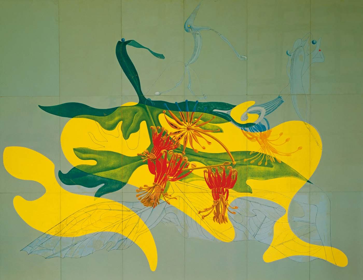 Max Ernst – Im Garten der Nymphe Ancolie