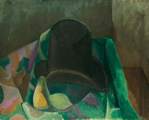 Pablo Picasso, Nature morte au chapeau, Winter 1908/09