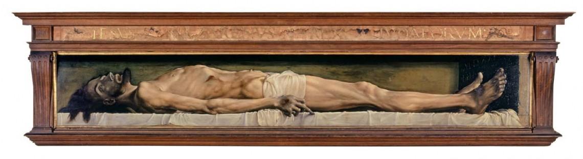 Hans Holbein d. J., Der tote Christus im Grab, 1521–1522