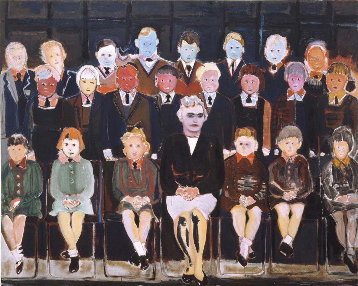 Marlene Dumas, The Teacher (Sub A), 1987, Privatsammlung, © Marlene Dumas, Foto: Peter Cox, © 2015, ProLitteris, Zürich