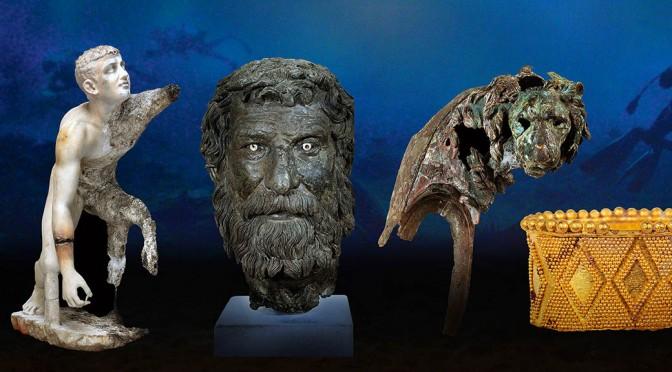 Kostbare Fundstücke aus dem Schatz von Antikythera