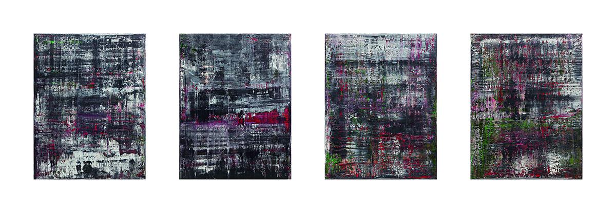 Gerhard Richter, Birkenau, 2014; Privatsammlung © Gerhard Richter, 2015