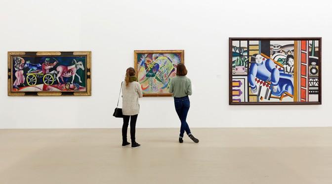 Ausstellungsansicht «Cézanne bis Richter» im Museum für Gegenwartskunst Basel