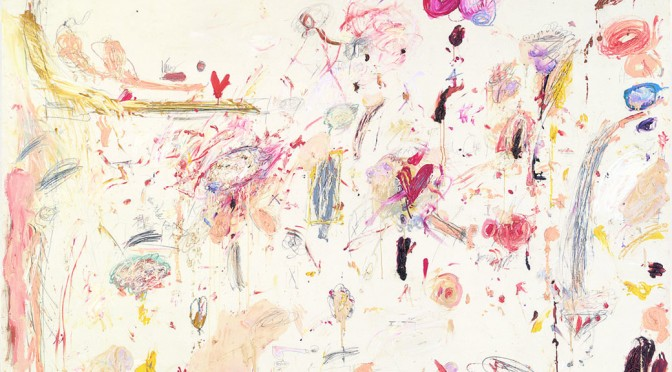 Cy Twombly, Untitled, 1961, Detail, Daros Collection, Schweiz © Cy Twombly Foundation