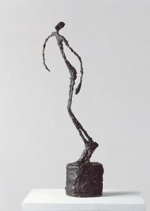Alberto Giacometti; L'homme qiui chavire; 1950 60 x 14 x 22 cm; Bronze