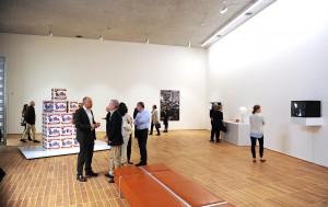Ausstellungsraum im 2. Obergeschoss.