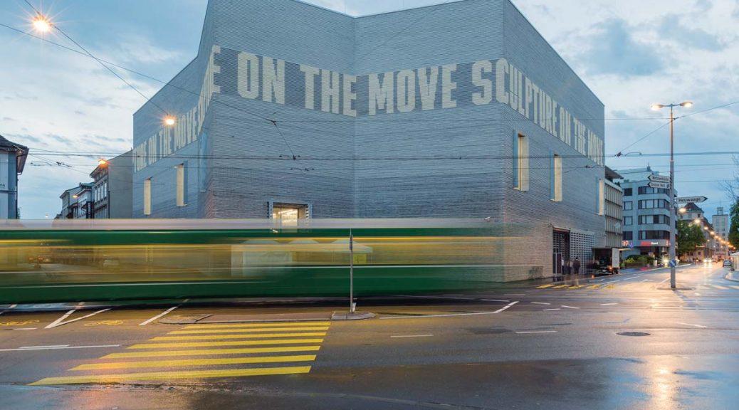 Aussenansicht Erweiterungsbau Kunstmuseum Basel, Foto: Julian Salinas, 2016