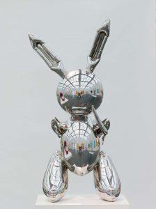 Jeff Koons, Rabbit, Museum of Contemporary Art Chicago, Teilschenkung von Stefan T. Edlis und H. Gael Neeson, 2001