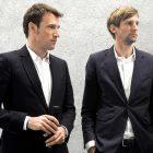Die Architekten des Neubaus, Emanuel Christ (links) und Christoph Gantenbein.