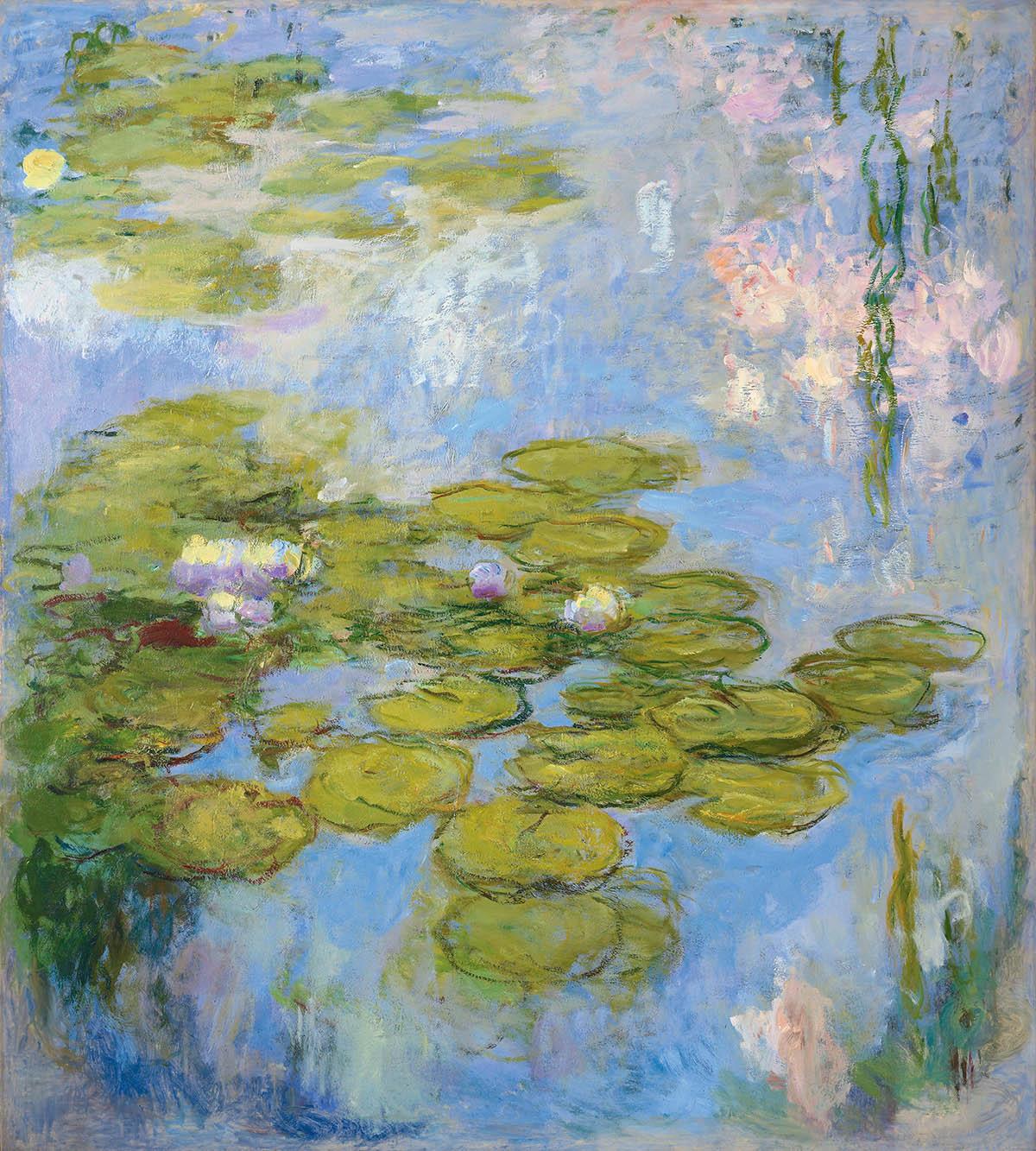 Claude Monet, Seerosen (Nymphéas), 1916-1919