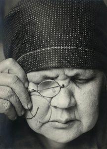 Alexander Rodtschenko, Porträt der Mutter, 1924