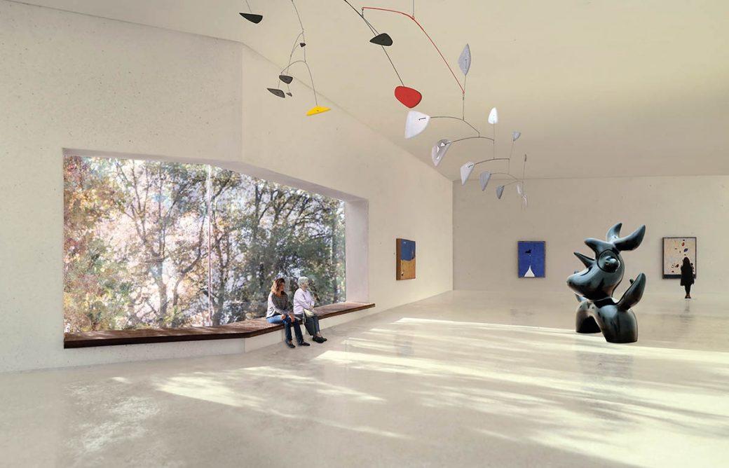 Das Erweiterungsprojekt der Fondation Beyeler von Atelier Peter Zumthor