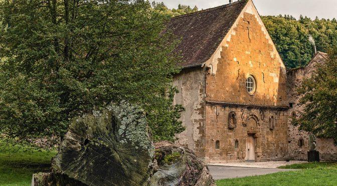 Hans Josephsohn im Kloster Schönthal