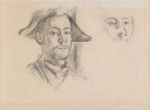 Paul Cézanne, Cézannes' Sohn Paul als Harlekin, um 1888, Kunstmuseum Basel