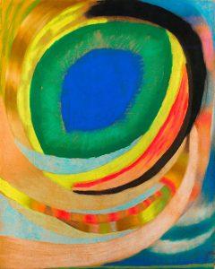 Otto Freundlich; Kosmisches Auge; 1921/22
