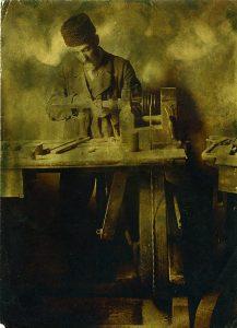 Solomon Judowin, Drechsler, 1912–1914 © Zentrum Petersburg Judaica