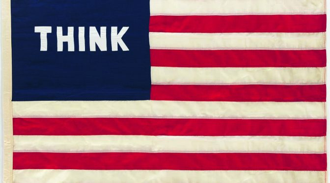 William N. Copley, Imaginary Flag for U.S.A., 1972