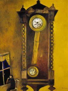 Marc Chagall; Die Uhr (La Pendule); 1914