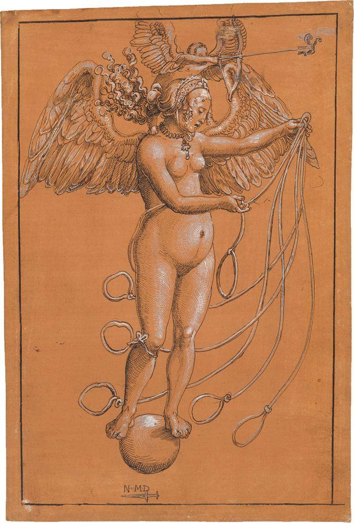 Niklaus Manuel gen. Deutsch; Frau Venus; um 1512