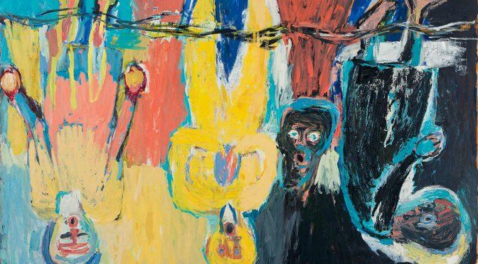 Georg Baselitz, Der Brückechor, 1983, Privatsammlung, © Georg Baselitz, 2018; Foto: © 2014 Christie's Images Limited