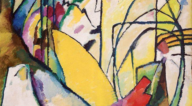 Wassiliy Kandinsky, Improvisation 10, 1910, Fondation Beyeler, Riehen/Basel, Sammlung Beyeler