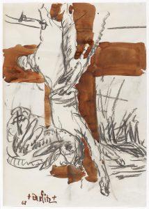 Georg Baselitz, Kreuz, 1968