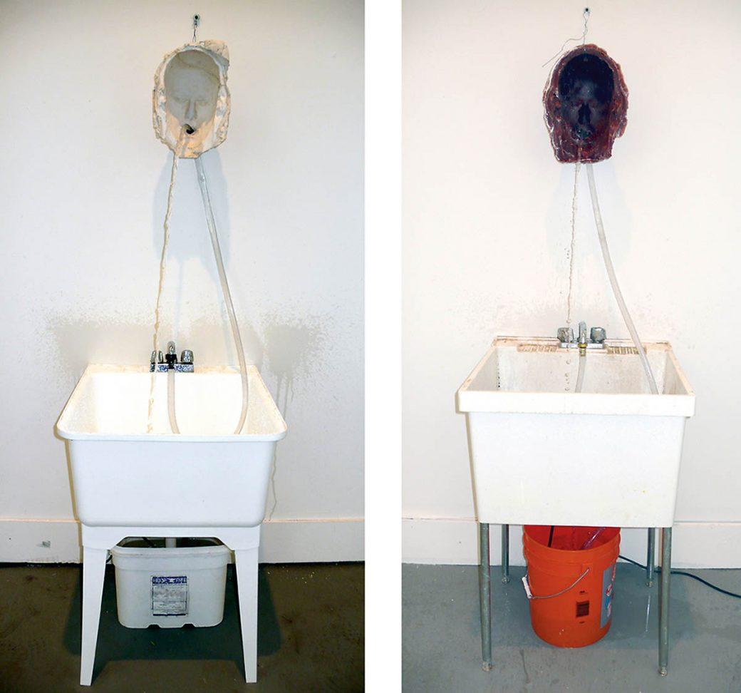 Bruce Nauman, Venice Fountains, 2007