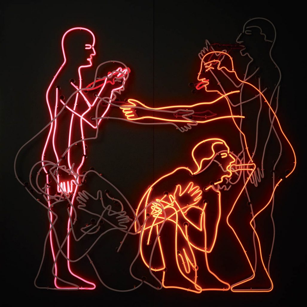 Bruce Nauman, Sex And Death By Murder And Suicide, 1985,