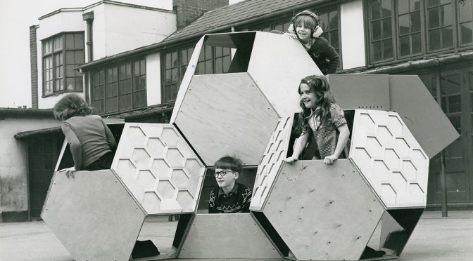 Victor J. Papanek, Tetrakaidecahedral, movable playground structure (1973–1975)