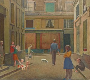 Balthus, Le Passage du Commerce Saint-André, 1952–1954