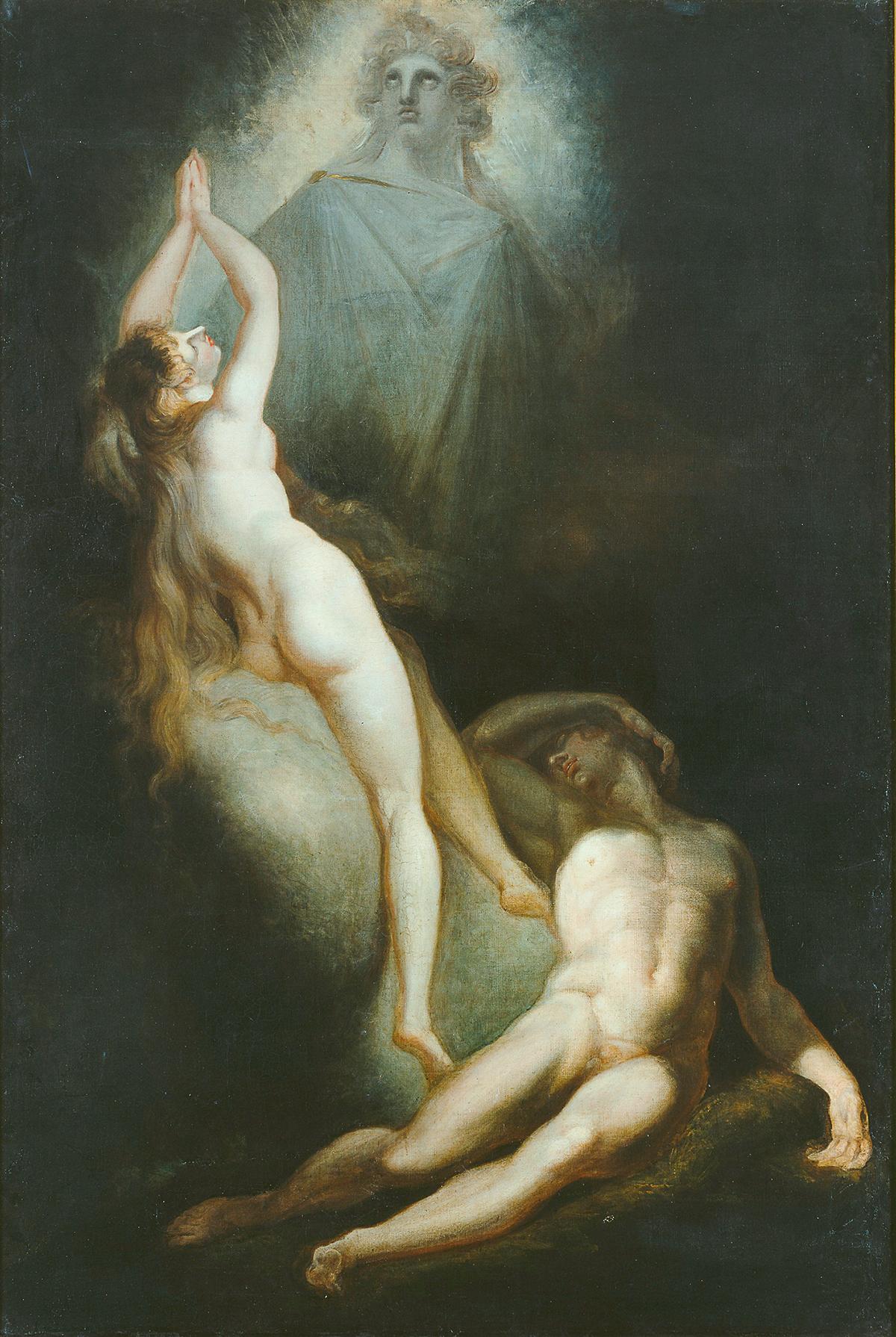 Johann Heinrich Füssli, Die Erschaffung Evas, 1791–1793