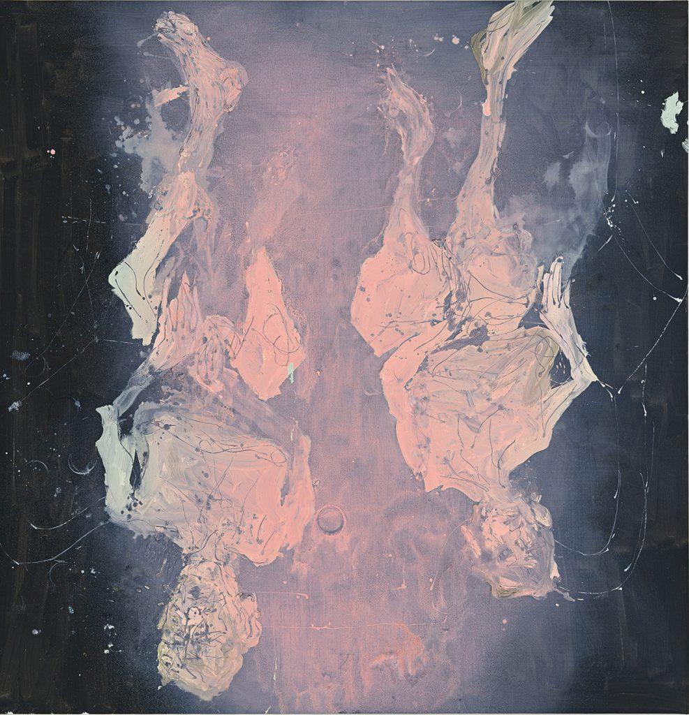 Georg Baselitz, Ach rosa, ach rosa, 2015