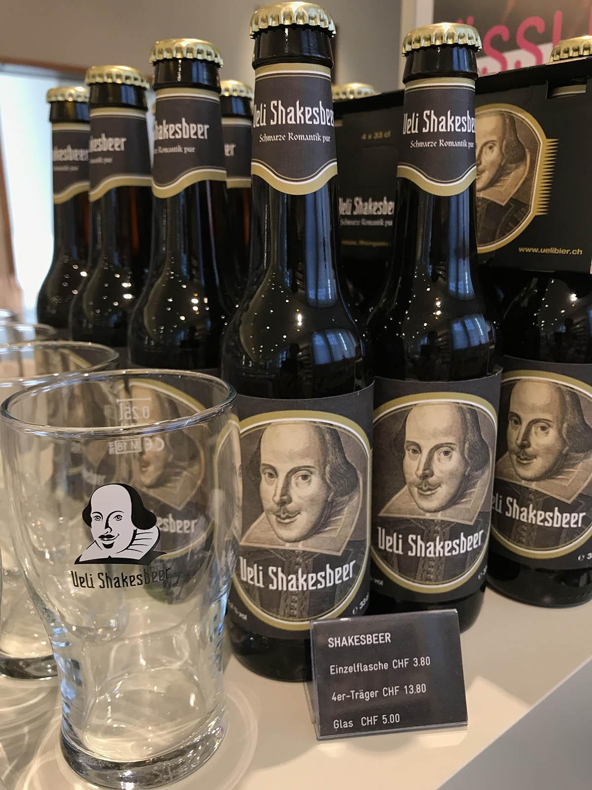 Ueli Shakesbeer 2018 – im Shop und im Bistro des Kunstmuseum Basel erhältlich