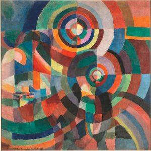 Sonia Delaunay, Elektrische Prismen, 1914
