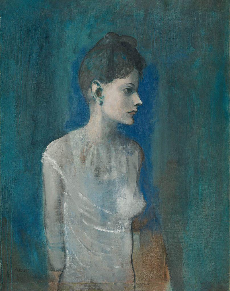 Pablo Picasso, Femme à la chemise (Madeleine), ca. 1905