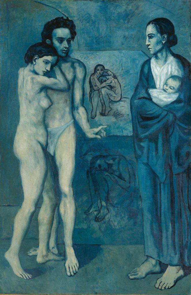 Pablo Picasso, La Vie, 1903