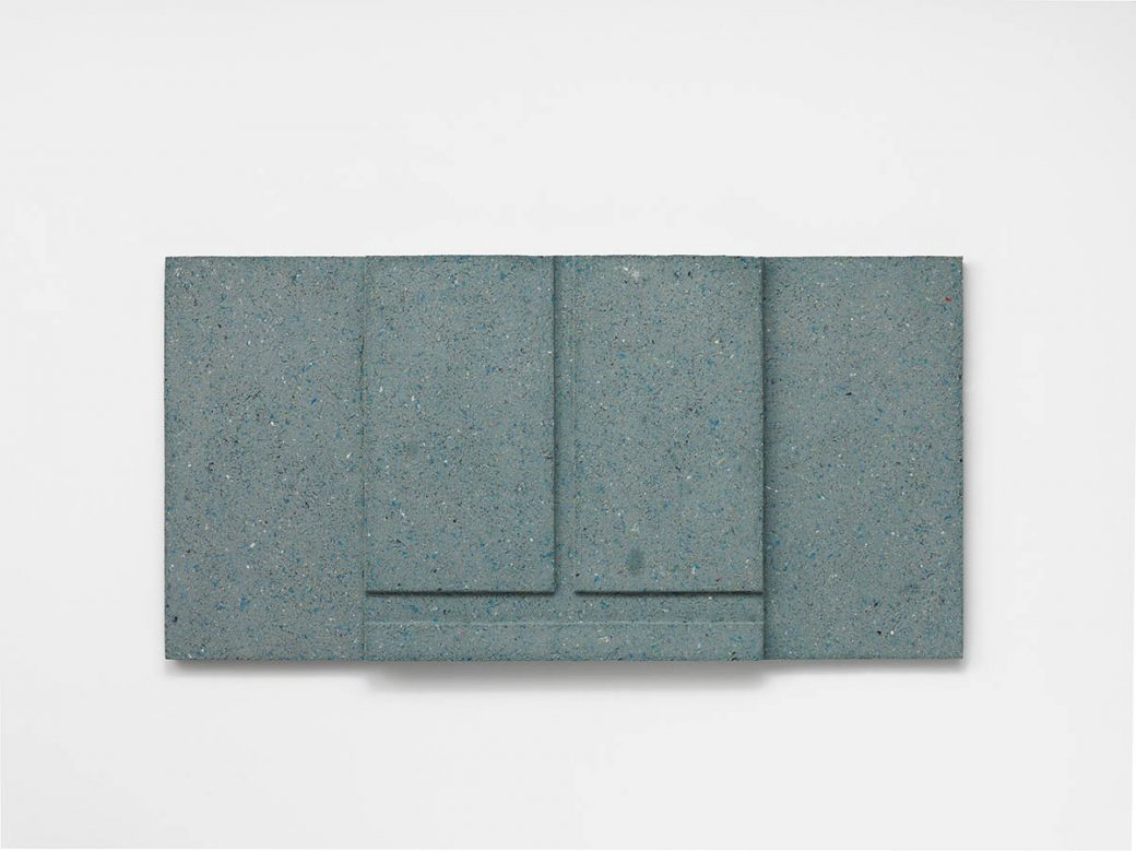 Rachel Whiteread, Untitled (Blue View), 2019