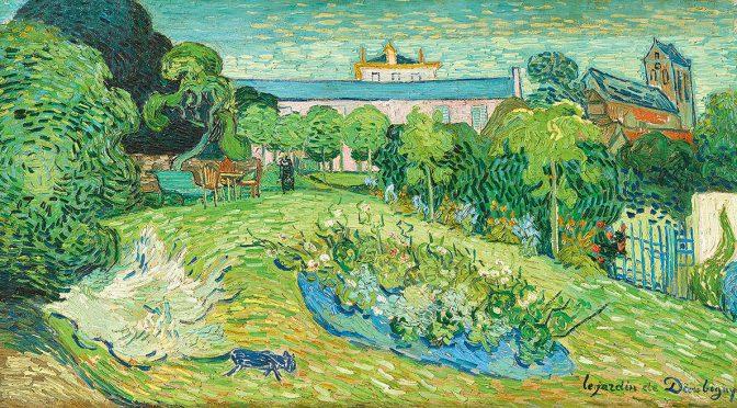 Vincent van Gogh, Le jardin de Daubigny, 1890